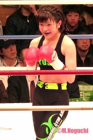城侑沙 VS キラッ☆Yuuki JKS48トーナメント2013 一回戦 詳細 シュートボクシング女子