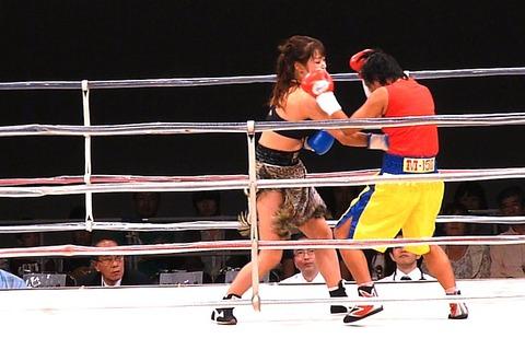 隣井朝子 vs サイトンレック3-2