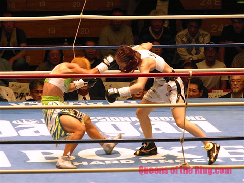 黒木優子 VS 花形冴美 Ⅲ-43