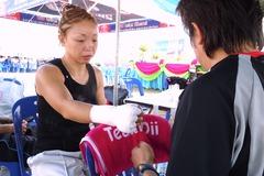 角田紀子選手