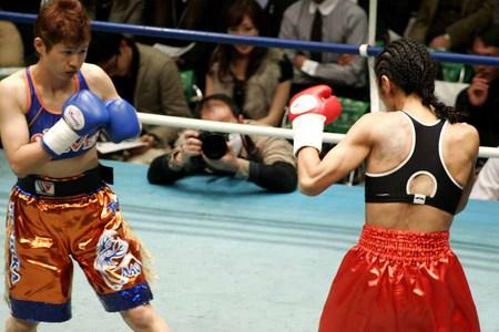 猪﨑かずみ vs 藤岡奈穂子