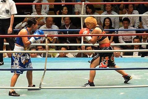 花形冴美 vs ジュジース・ナガワ