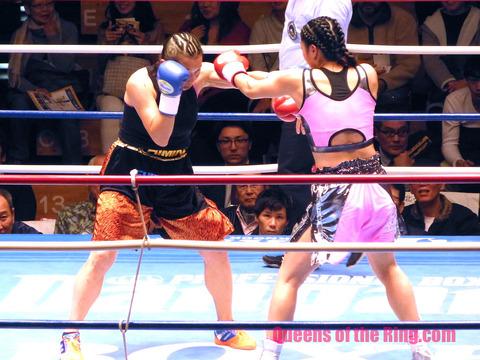 藤原茜vs島野りーみん-1