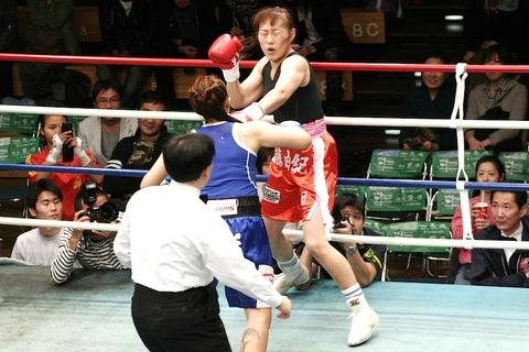 佐藤由紀 vs ノンマイ
