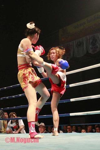 ちはる vs リトルタイガー