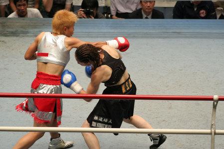 花形冴美vs相川周子2R1