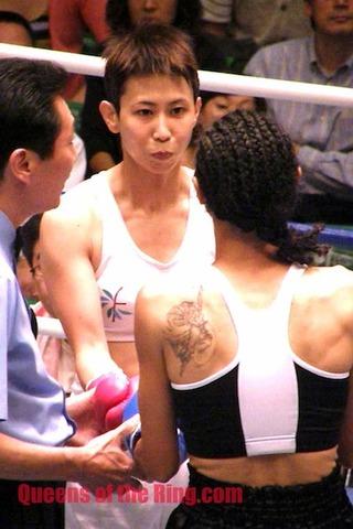 上村里子選手