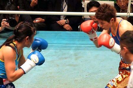 藤岡菜穂子 vs ポーンブーノン・ポーウォンプルラメット