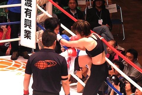 吉田実代 vs 井上明日香