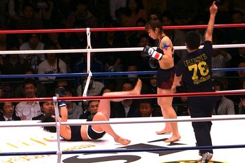 神村エリカ vs ファン・ヤーウェン