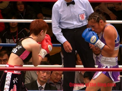 柴田直子 VS グアダルペ・マルティネス