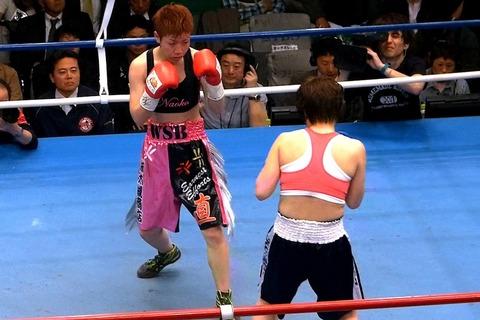 柴田直子 vs ソン・チョロン