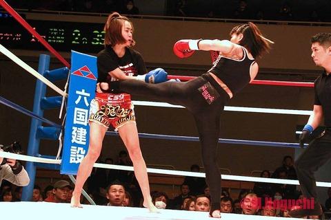 吉田実代 vs ユ・ヒジン
