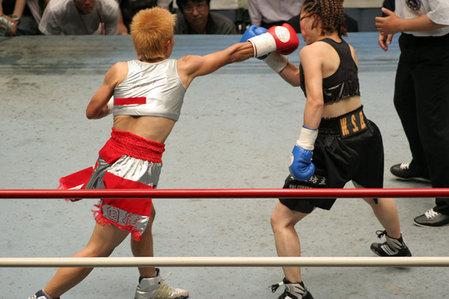花形冴美vs相川周子2R6