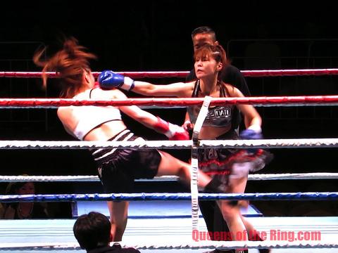 横田香織 vs 伊達連珠-9