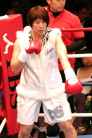 水谷智佳選手