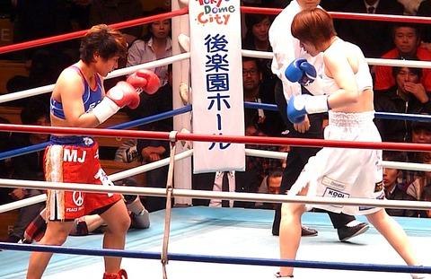 風神ライカ vs 水谷智佳
