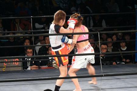 山田純琴 vs Mai-3