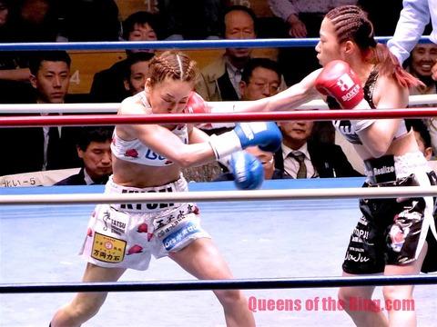 黒木優子vs神田桃子-9