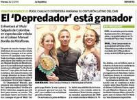 ペルーの新聞の記事