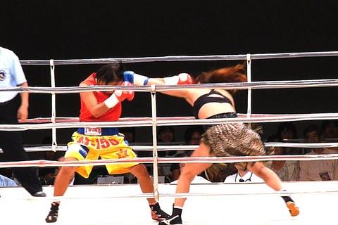 隣井朝子 vs サイトンレック3-1