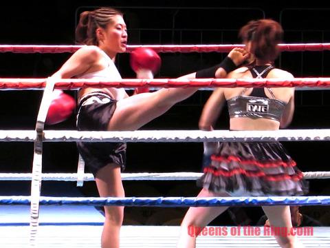 横田香織 vs 伊達連珠-16
