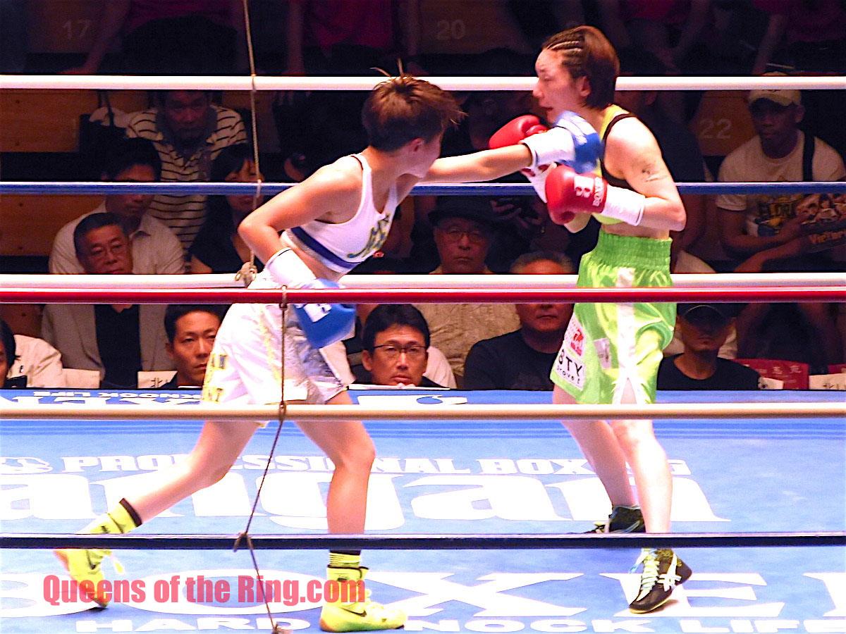 奈良判定どころではないプロボクシングの深いヤミ 松田恵里 VS 葉月さな アトム級6回戦 試合経過 ボクシング女子