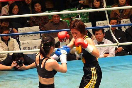 江畑佳代子 vs イム・ヒジョン
