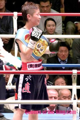 柴田直子 VS アロンドラ・ガルシア