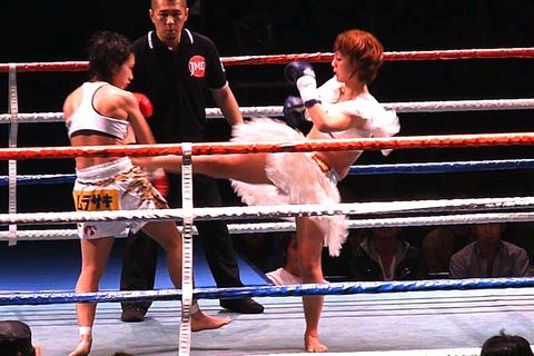 Little Tiger vs 飯田なお