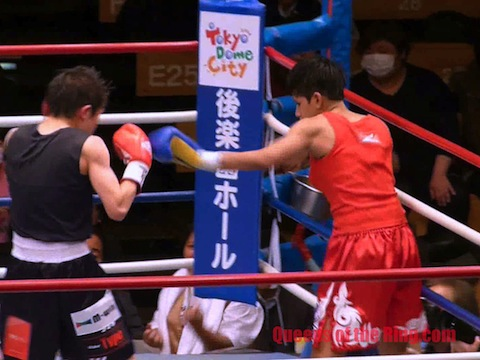 小関桃 VS アンゴー