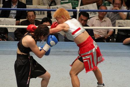 花形冴美vs相川周子3R2