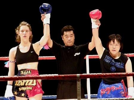 小澤聡子 vs アルフレッドソン・モニカ