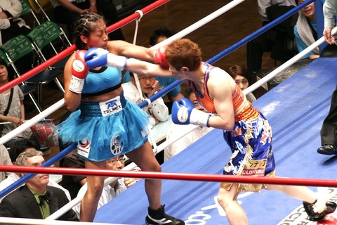 アナベル・オルティス vs 藤岡奈穂子