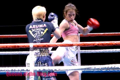 AZUMA vs ヨアンナ