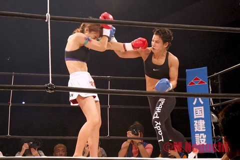 神村エリカ vs ロレーナ・クライン