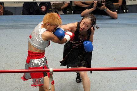 花形冴美vs相川周子2R2