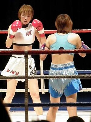 ルミナK vs MITSUKI