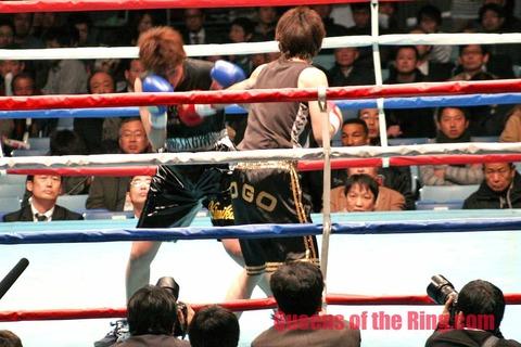 東郷理代選手防衛戦