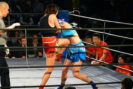 悦センチャイジム vs MITSUKI0